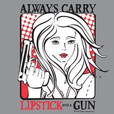 LIPSTICK AND A GUN